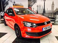 🔱FROM £99/MONTH🔱2010 VOLKSWAGEN POLO 1.2 PETROL★MOT MAR 2018★7 VW MAIN DEALER STAMPS★KWIKI AUTOS★