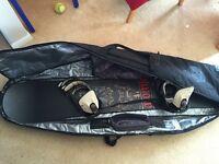 "Burton Snowboard Bag, Atomic SnowBoard ""163"", SPX Pro bindings"
