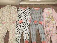 Girls 18-24month pyjamas