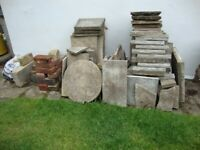 Slabs, natural stone Tiles, crazy paving and aggregate all for £10