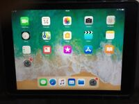 iPad Air space grey 16 GB WiFi with stand