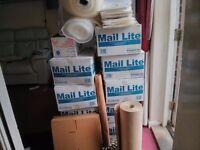 Jiffy bags/brown paper/ bubble wrap/envelopes