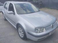 VW Volkswagen Golf Hatchback 2000 MK4 1.6 S 5dr Petrol Hatchback Silver Manual 12 Months MOT