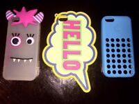 SAVE £15 ! THREE GREAT CONDITION I PHONE 5/C CASES FOR SALE!!