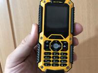 Fonerange Rugged Tough Mobile Works with o2 / giffgaf / ee / virgin / vodafone