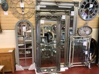 NEW Large Full length Carved Leaner Mirrors from £89-£499