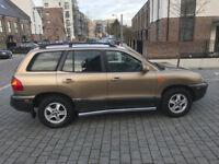 2002 HYUNDAI SANTA FE DIESEL 4X4/jeep/freelander/range rover/honda crv/suzuki vitara/pajeero/ shogun