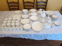 100 piece Royal Doulton Carnation Dinner Service - Perfect condition - as new!