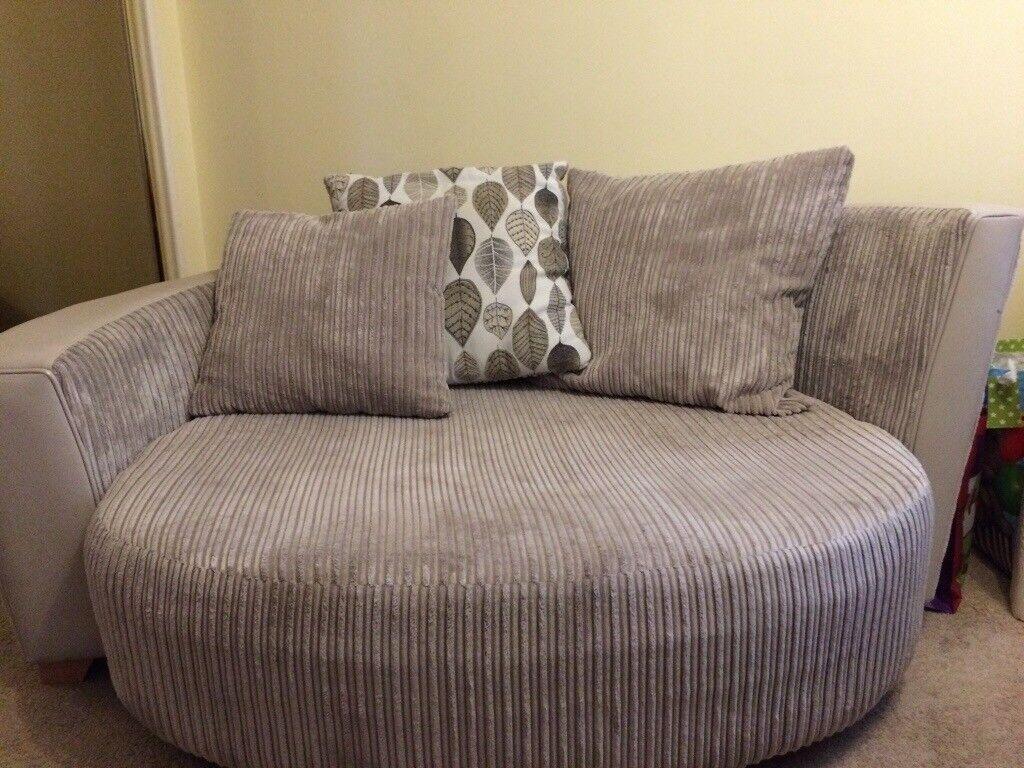 Large round cuddle chair. | in Aberdeen | Gumtree