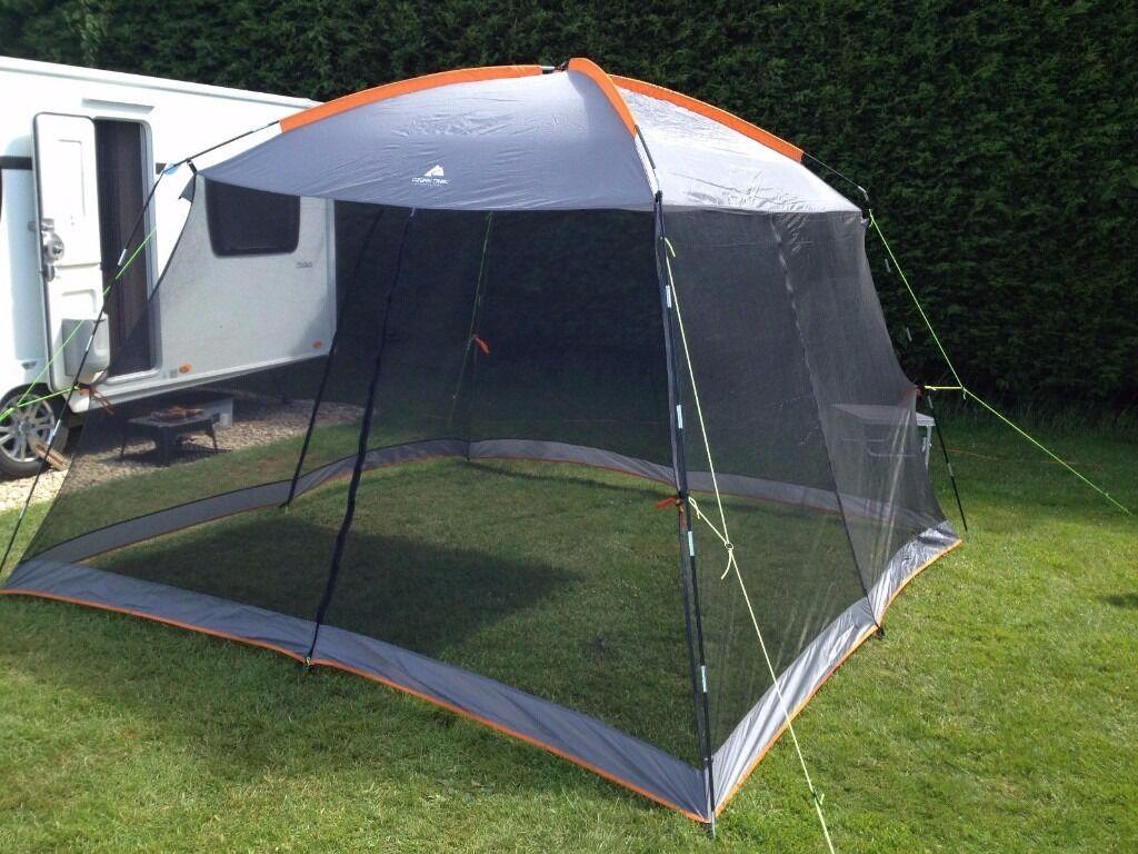 Ozark Trail Gazebo Screen House Tent 11x11x7ft New