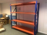 "New Simply Shelving Longspan Container Racking Bay 6'6"" x 6'6"" x 2'"