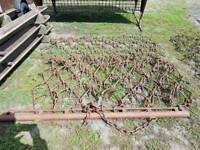 Tractor 12ft heavy duty drag grass harrows in very good condition