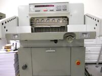 Polar Guillotine 55EM. Excellent guillotine for the printing trade.