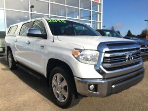 2016 Toyota Tundra 1794, CREW CAB, ONE OWNER HIGHWAY KM.
