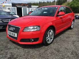 2009 Audi A3 1.9 TDI FSH, 12 MONTHS Warranty, Finance Available
