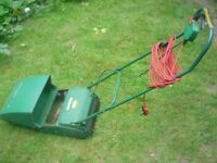 Qualcast Concorde 30 electric lawnmower - charity sale