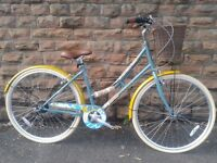 NEW Elswick Liberty 700C Ladies Heritage Hybrid Road Bike Basket RRP £299