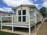 LUXURY STATIC CARAVAN FOR SALE IN THE YORSHIRE DALES, OWNERS ONLY PARK, 5* PARK