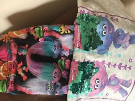 Trolls Leggings and Tshirt