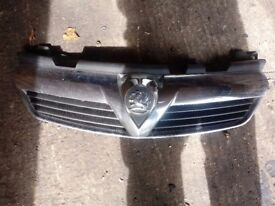 vauxhall Zafira B 2006-2011 Front Grill Chrome Grille
