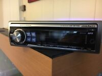 Alpine 9874RB mp3/cd car stereo player