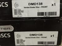 Brand new brake discs for bmw 1 and 3 series dmd138