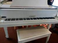 Modern baby grand piano