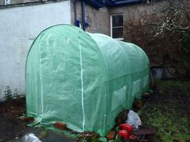 POLYTUNNEL-Fully Galvanised Frame-2m x 4m x 2m