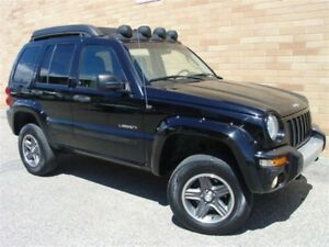 2004 Jeep Liberty Renegade 4X4. Loaded! Lifted! Automatic!