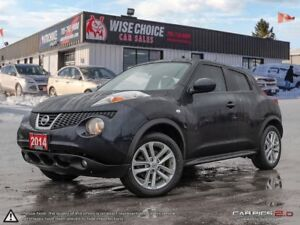 2014 Nissan Juke SL,ONE OWNER,AWD,NAVI,LEATHER,PWR S/ROOF