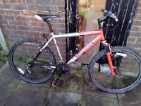 Mens mounting bike Universal Havoc 21speed for sale  Essex