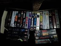 Video collection for sale. 80 pounds ono.