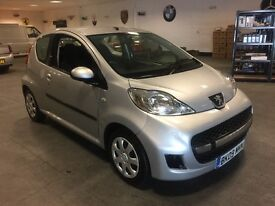 2009 PEUGEOT 107 £20 YEAR TAX!! 1.0 SILVER 12 MONTHS MOT VERY NICE CAR BARGAIN TO CLEAR!