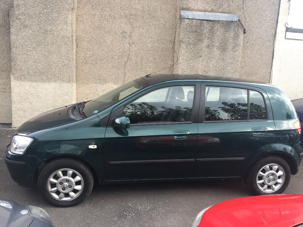 Hyundai Getz 1.3 Petrol 5 Door Manual Hatchback Fantastic Car Low Mileage