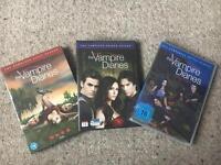 Vampire Diaries DVD set