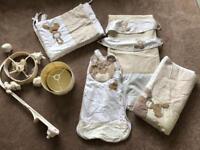Next 'my first friends' bear nursery bedding set bundle