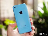 32GB Blue iPhone 5c, Brand New Straight from Apple Store