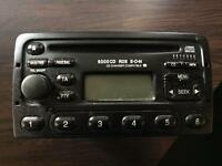 Genuine Ford 6000 CD RDS Stereo / CD Player With Code.