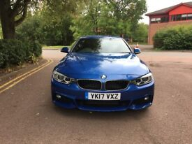 BMW 4 Series Grand Coupe 420d M Sport Gran Coupe2.0 [190bhp]M Sport Plus Package, Only £30 RoadTax