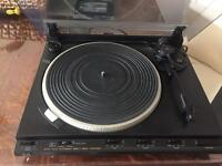 JVC direct drive turntable