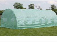 Polytunnel greenhouse 6x3 mtrs, new, still boxed