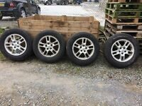 2006 landrover discovery wheels & tyres