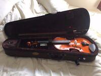 4/4 Stentor beginner violin USED ONCE