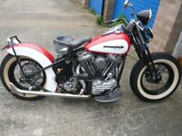 1941 Harley Davidson, Historic vehicle registered, Free Road Tax and No Annual MOT required