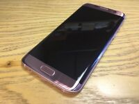 Samsung S7 Edge 32GB Rose Gold (Unlocked)