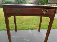 Vintage mahogany table/console table