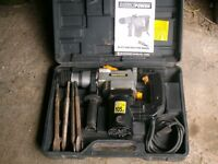 Direct Power Sds breaker drill/hammer/chisel action for home projects