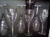 SIERRA LEAD CRYSTAL GLASSES