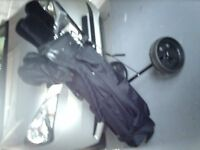 Full set of Golf Clubs and Trolley
