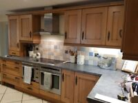 Full Kitchen Units and Oven (optional)